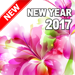 Pink Rose clipart happy new year Android Year New (Flowers) Google