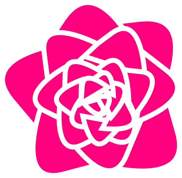 Rose clipart pink rose #12