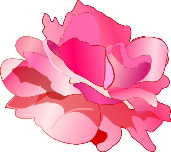 Rose clipart pink rose #13