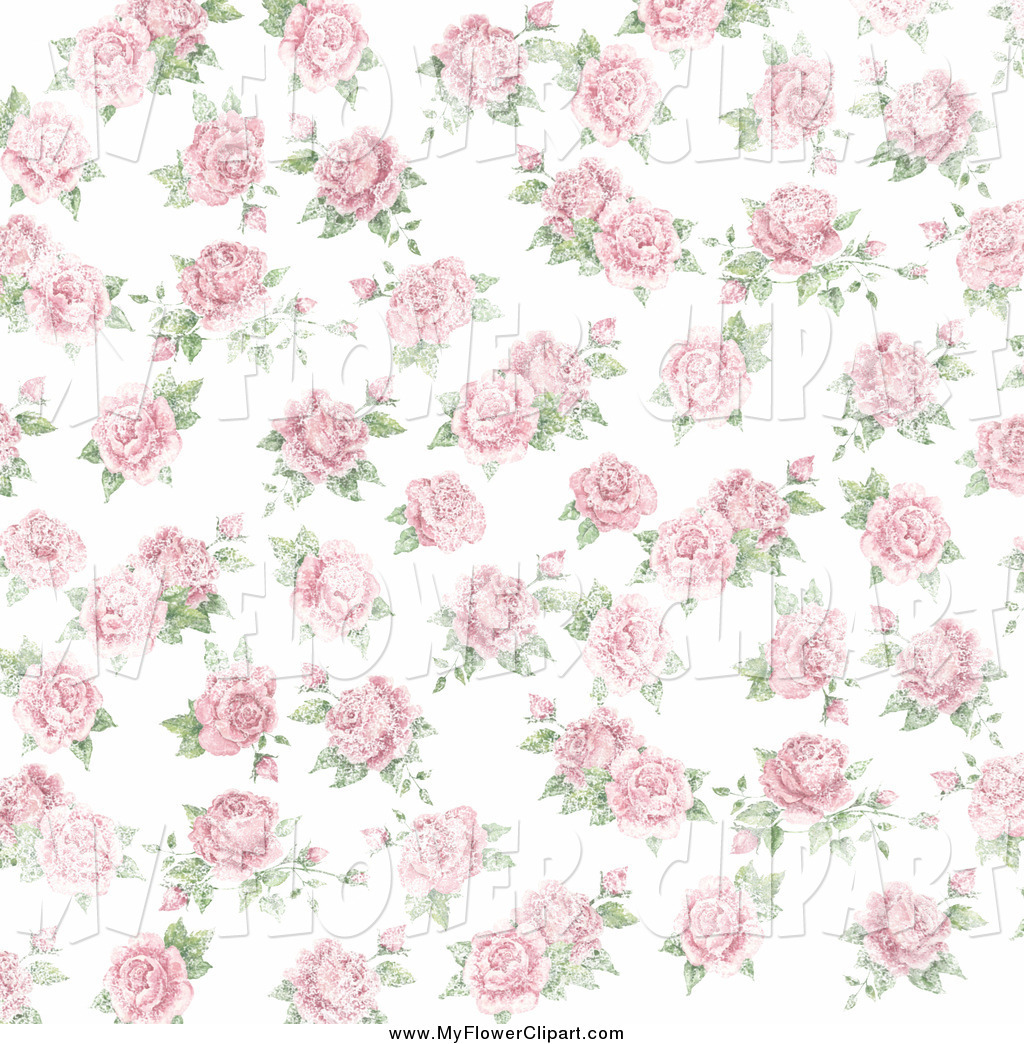 Pink Rose clipart white background Pink Clip Roses Jane by