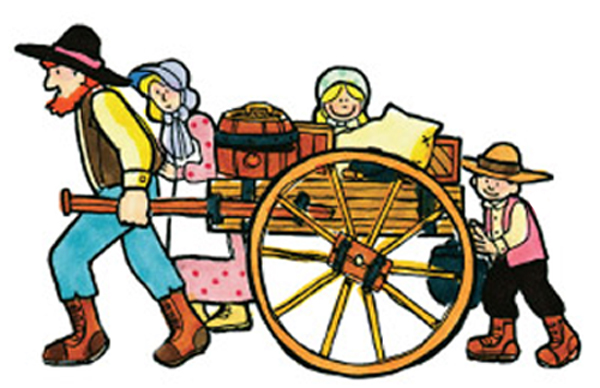 Pioneer clipart Wagon Free Clipart Clip Pioneer