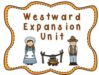 Us History clipart westward expansion 5th 45 Expansion on Westward