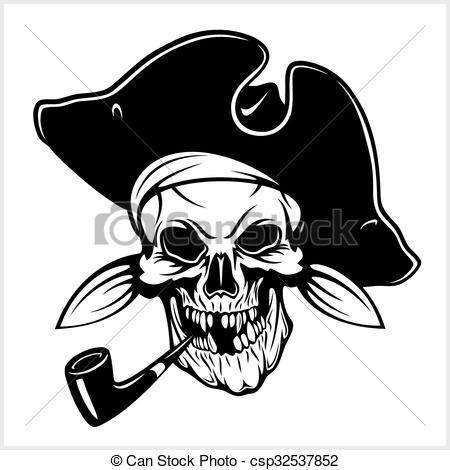 Pipe clipart pirate Pirate hat  Pirate and
