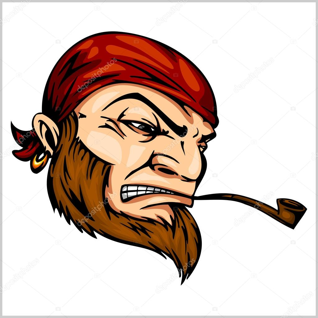 Pipe clipart pirate With by with Pirate and