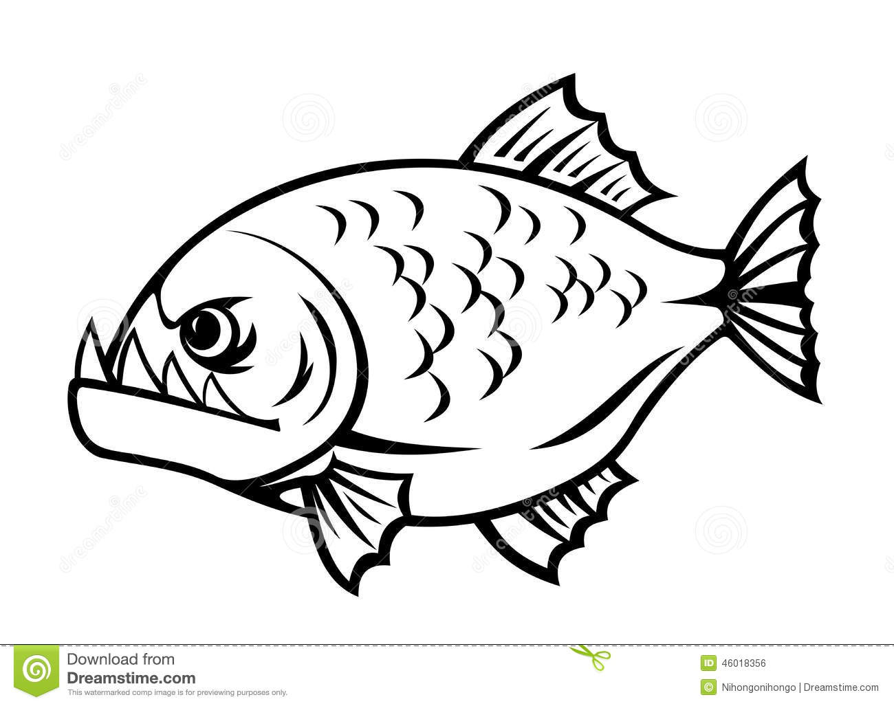 Piranha clipart angry #8 clipart Piranha Download Download