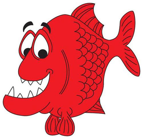 Piranha clipart cute Piranha photo#6 Piranha cartoon Cartoon