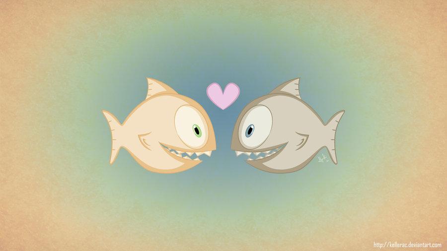 Piranha clipart cute Piranha on by by KellerAC