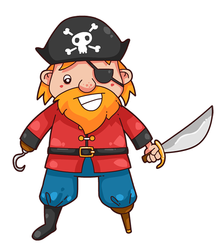 Pirate clipart Free to Clipart Pirate use