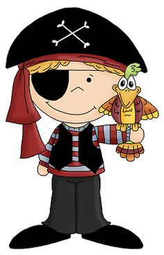 Scar clipart pirate Birds shoulder parrot Clip with