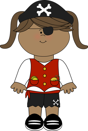 Pirate clipart happy Art Girl Pirate Images Clip