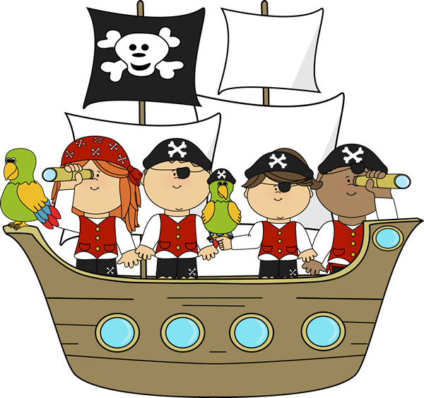 Pirate clipart happy Pirate on Clip Art Ship