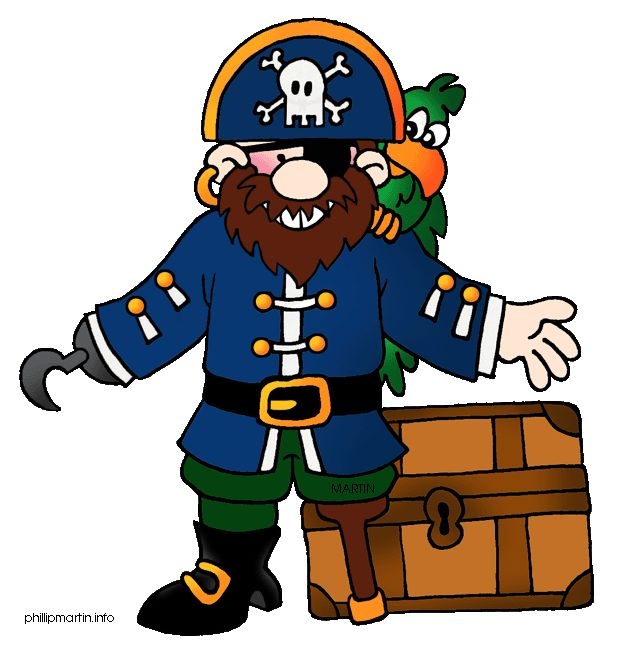 Pirate clipart argh #4