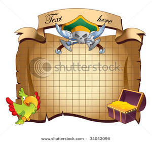 Pirate clipart background Clipart Map Image: Map Background