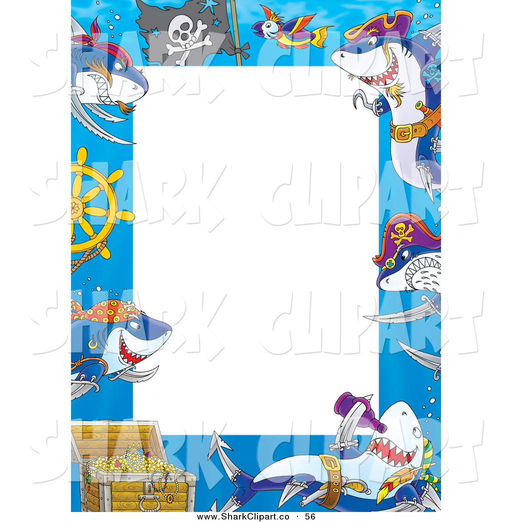 Pirate clipart background Free Shark Background Designs Stock