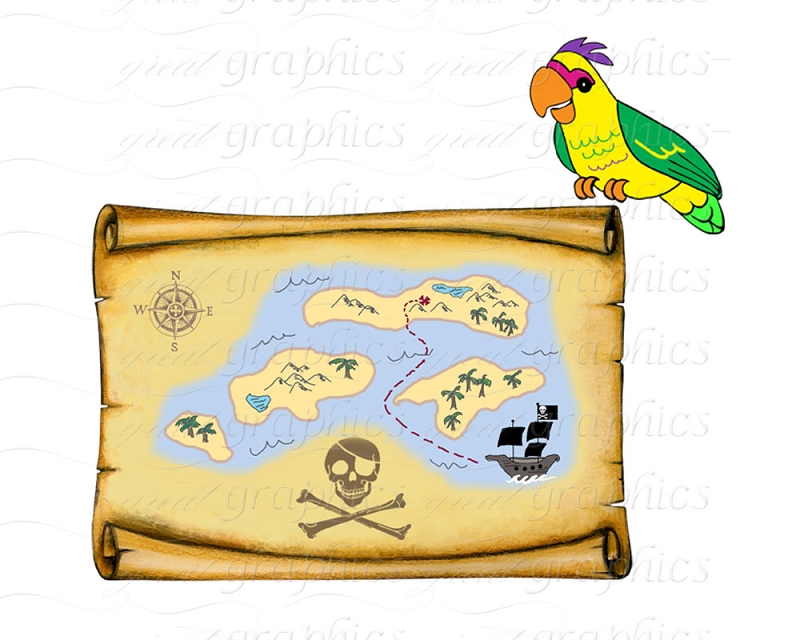 Pirate clipart background Clip Pirate art Clipart Printable