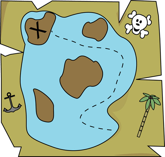 Treasure clipart cute Map Pirate Art Pirate Pirate