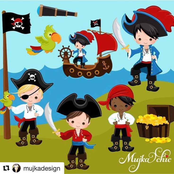 Pirate clipart beach This Find Pirate ClipArt about