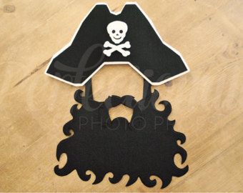 Pirate clipart bearded #7