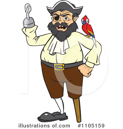 Pirate clipart bearded Royalty Pirate by Free Clipart