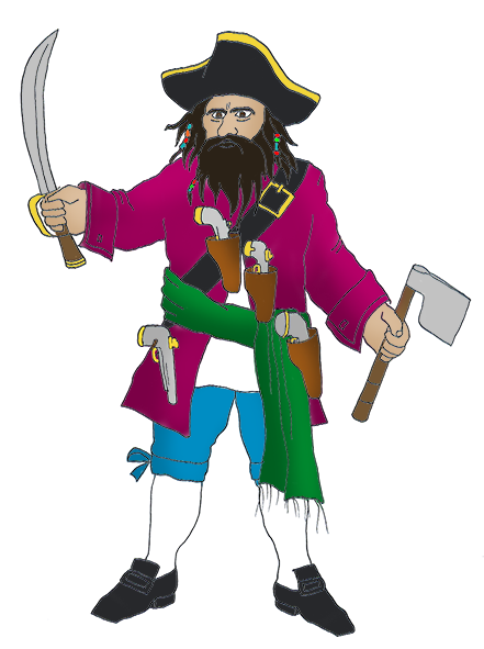 Pirate clipart bearded Pirate Clip collection beard Art