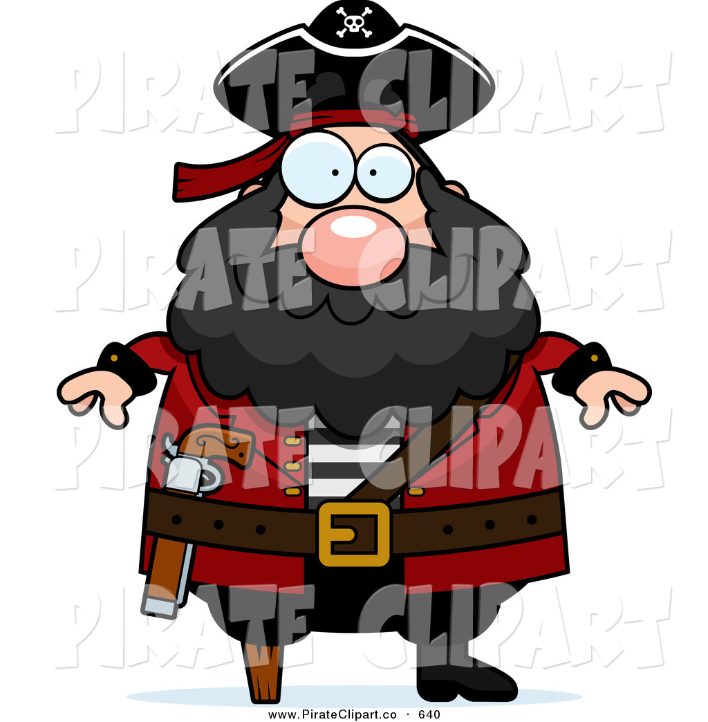 Pirate clipart bearded  Designs Royalty Pirate Beard