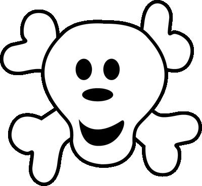 Pirate clipart bone #7