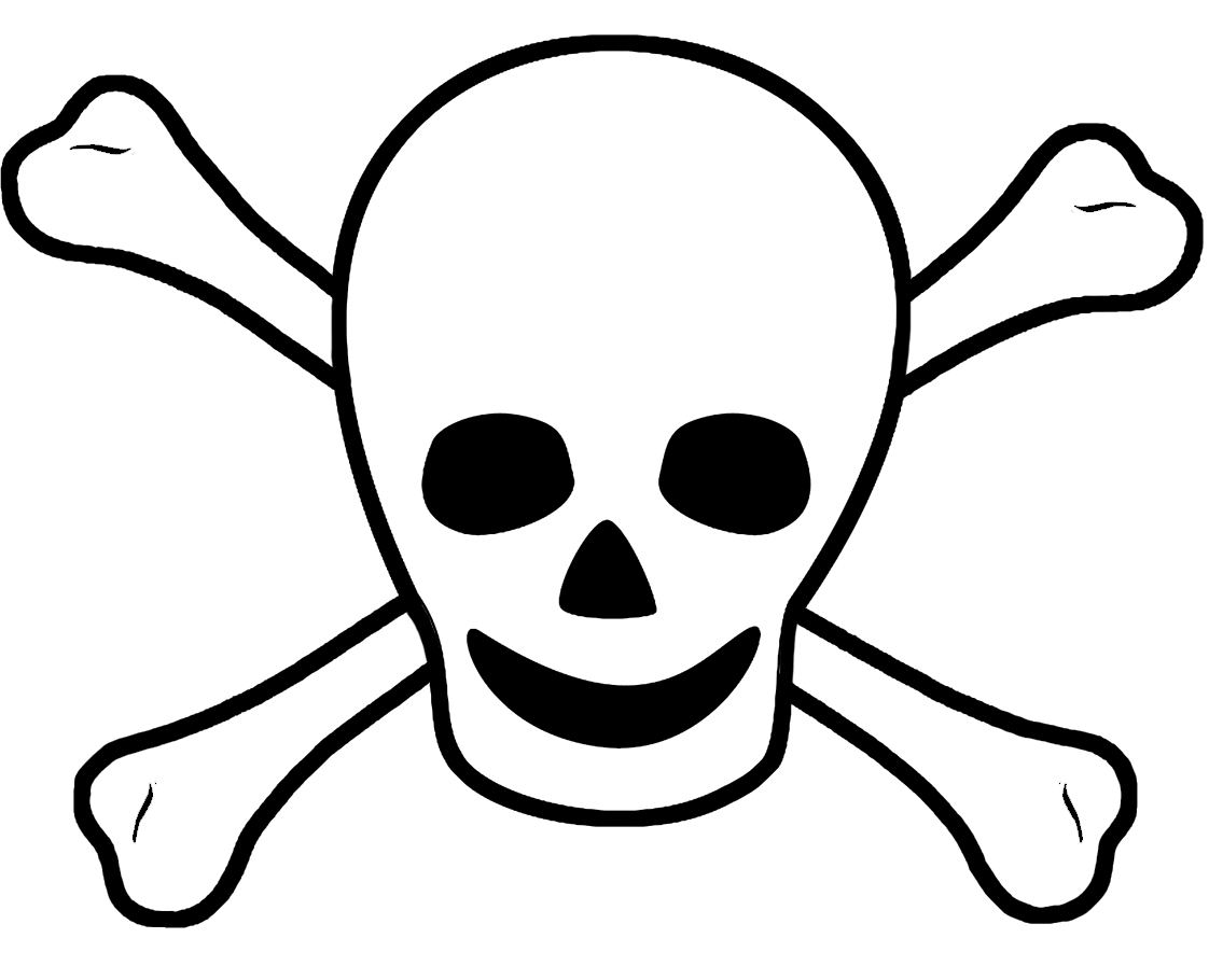 Bones clipart pirate Clip Pirate pirate sign scull