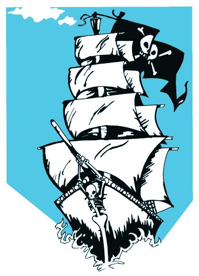 Pirate clipart cartoon pirate Cartoon Clip Gifs Clip Ship