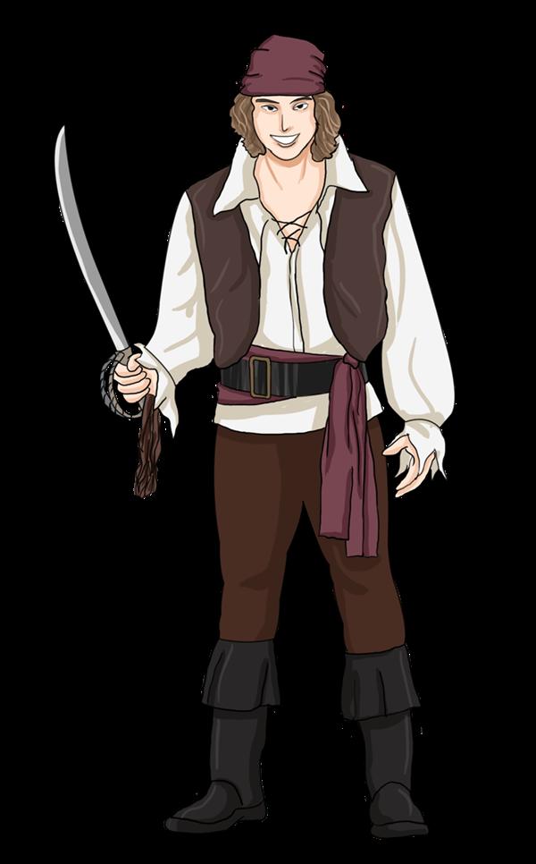 Pirate clipart cartoon pirate Use Art to Public Pirate