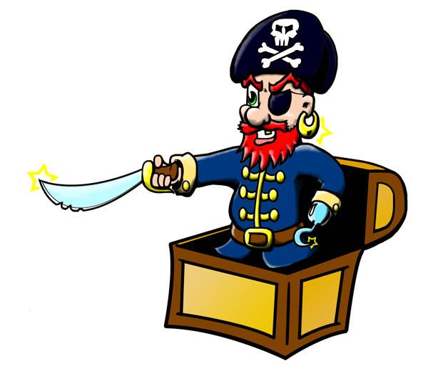 Pirate clipart cartoon pirate Pirate Cartoon  Clipart