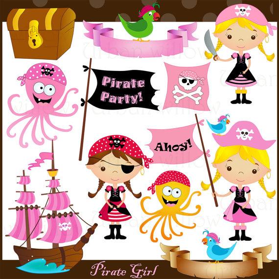 Pirate clipart cartoon pirate LittlePumpkinsPix & by art images