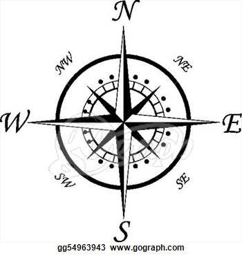 Compass clipart old fashioned And Clipart Clipart Compass Bay