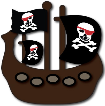 Compass clipart pirate gold Ship clip art clip art