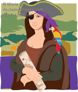 Pirate clipart drinking #6