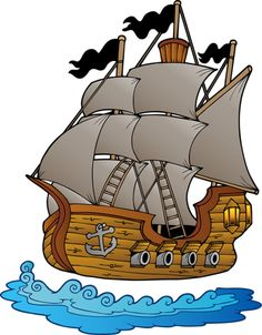 Pirate clipart drinking #8