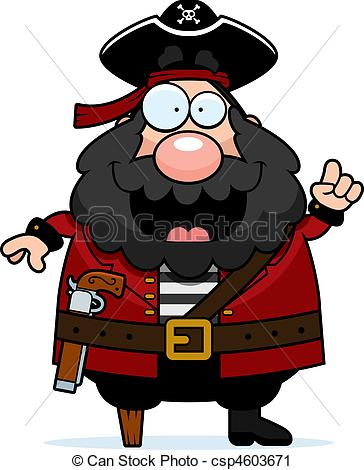 Pirate clipart happy Pirate cartoon Clip with A