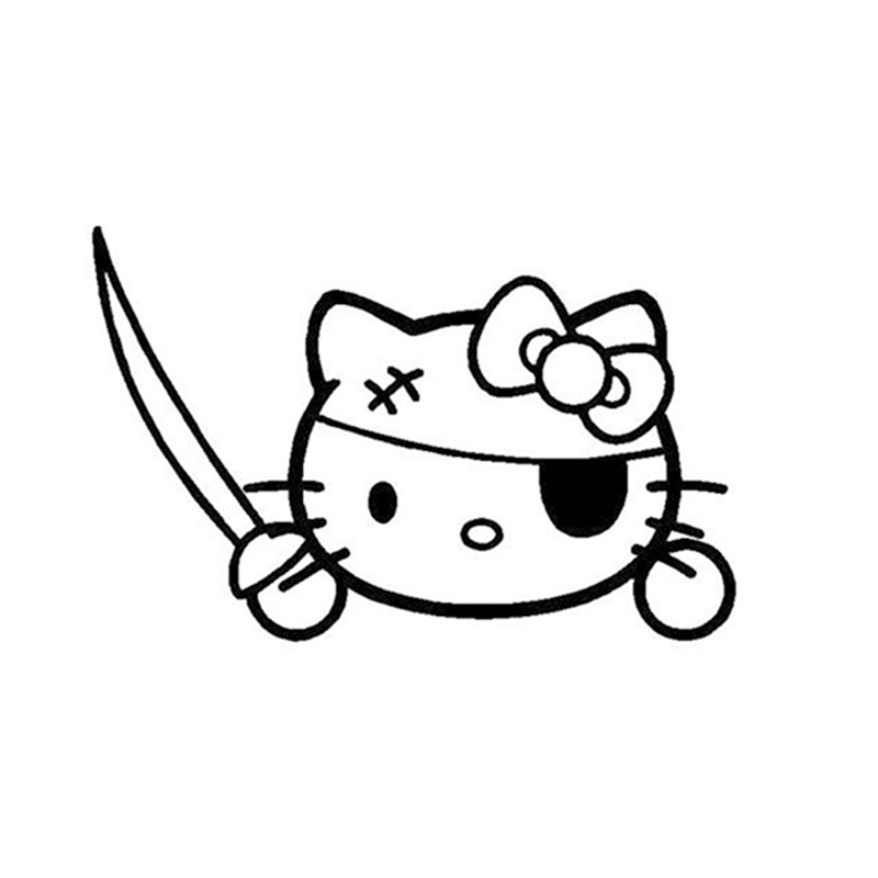 Pirate clipart hello kitty #9