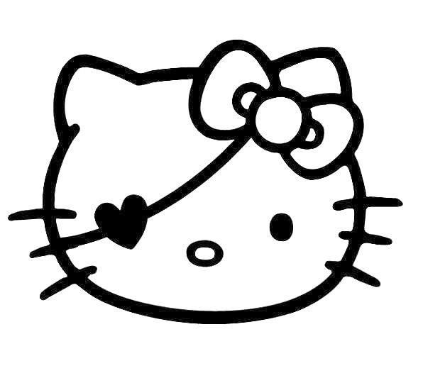 Pirate clipart hello kitty #11
