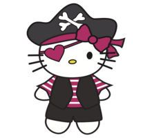 Pirate clipart hello kitty #5