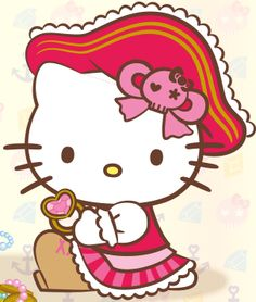 Pirate clipart hello kitty #6