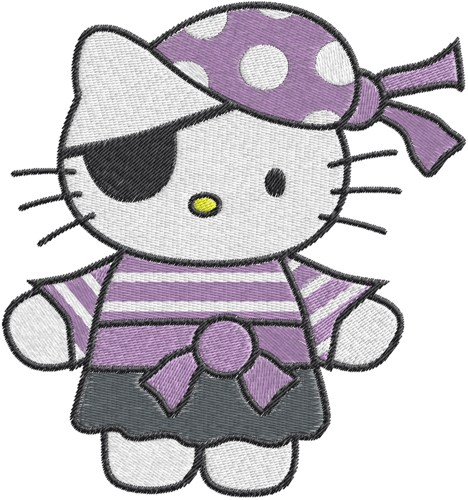 Pirate clipart hello kitty #12