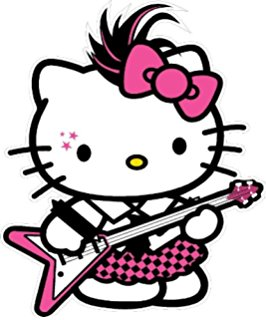 Pirate clipart hello kitty #7