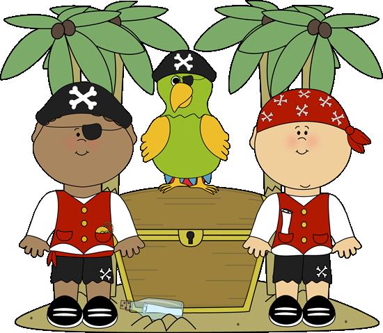 Pirate clipart island #5
