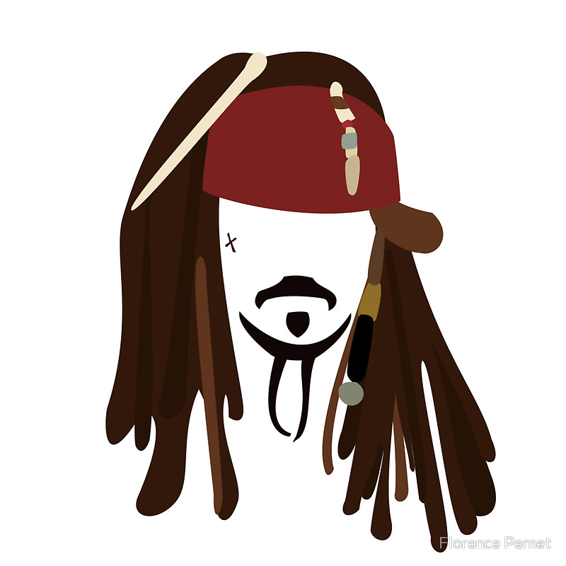 Pirate clipart jack sparrow #6