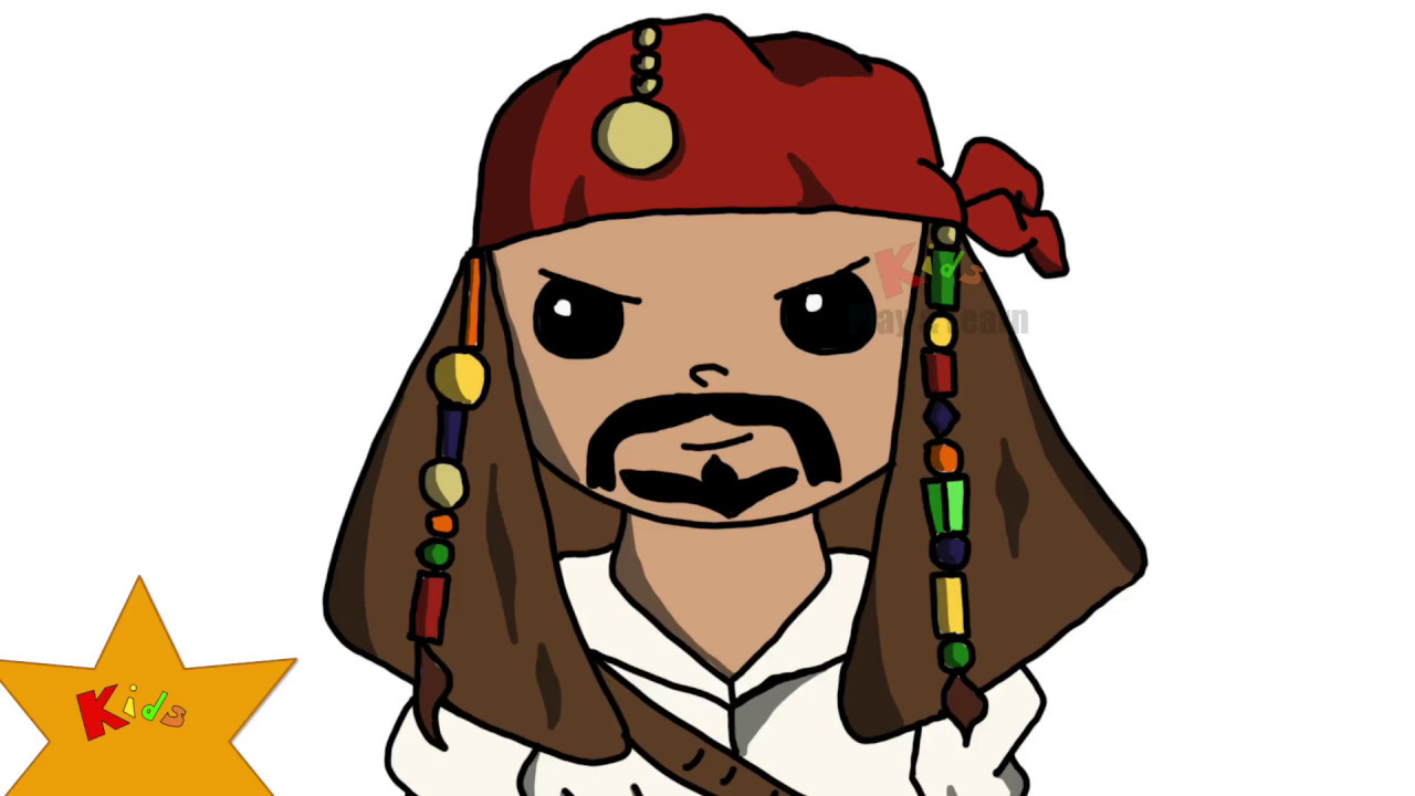 Pirate clipart jack sparrow #10