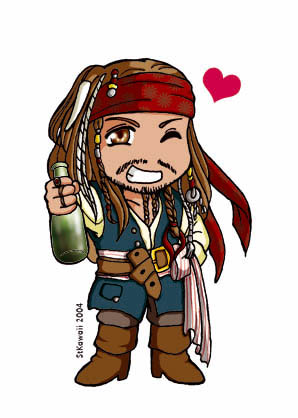 Pirate clipart jack sparrow #14