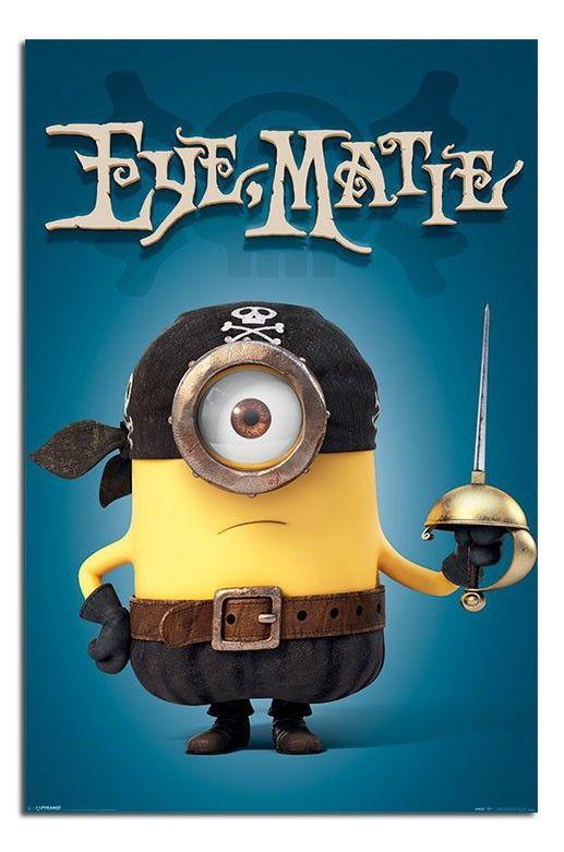 Pirate clipart minion #1