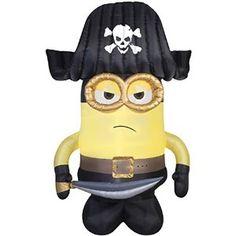 Pirate clipart minion #4