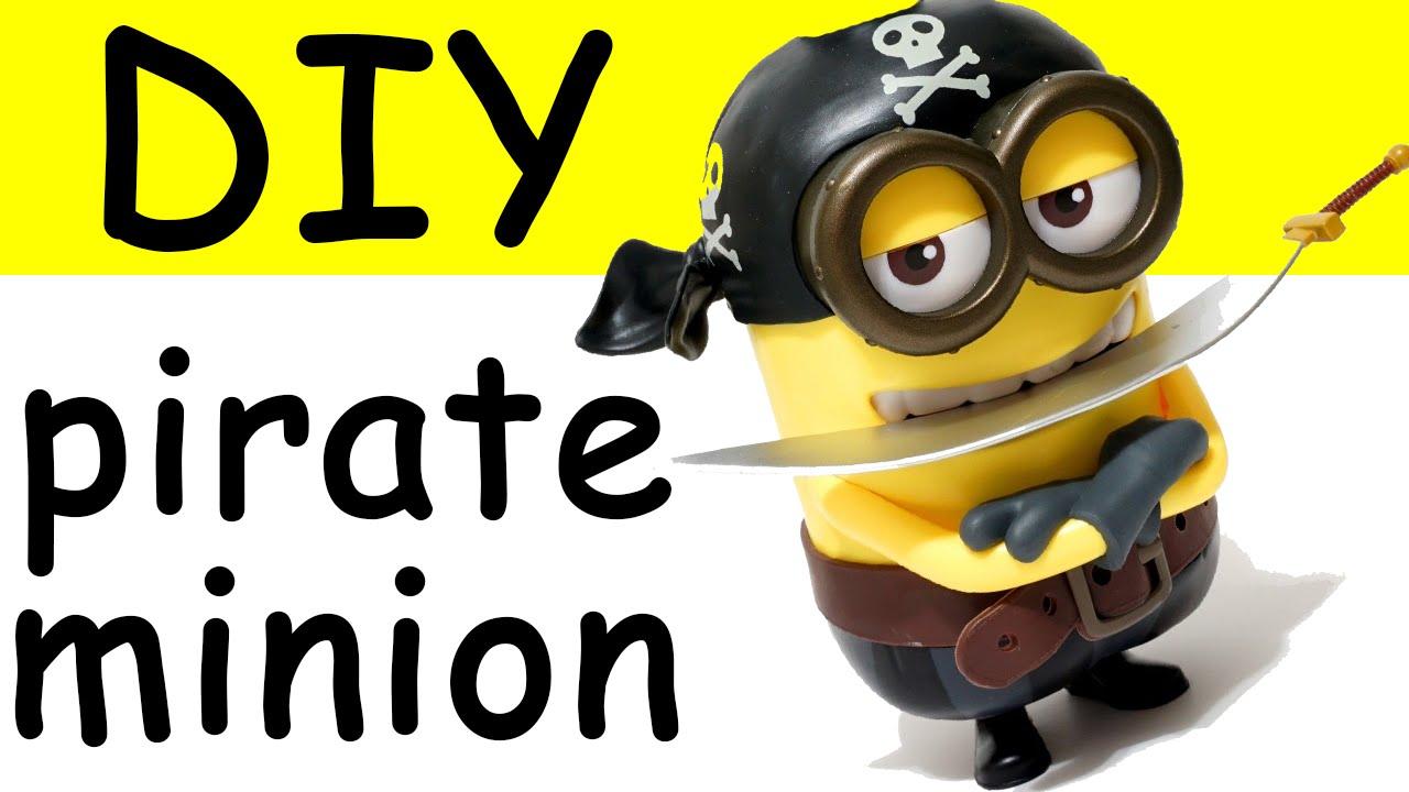 Pirate clipart minion #6