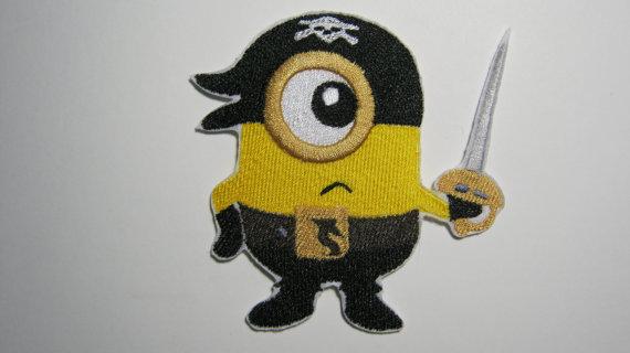 Pirate clipart minion #5